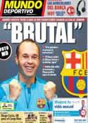 Portada Mundo Deportivo del 13 de Mayo de 2014