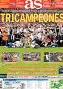 Portada diario AS del 15 de Mayo de 2014