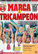 Portada diario Marca del 15 de Mayo de 2014