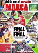 Portada diario Marca del 16 de Mayo de 2014
