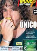 Portada Mundo Deportivo del 16 de Mayo de 2014