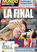 Portada Mundo Deportivo del 17 de Mayo de 2014