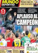 Portada Mundo Deportivo del 18 de Mayo de 2014