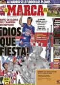 Portada diario Marca del 19 de Mayo de 2014