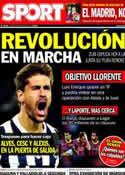 Portada diario Sport del 19 de Mayo de 2014