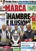 Portada diario Marca del 20 de Mayo de 2014
