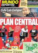 Portada Mundo Deportivo del 21 de Mayo de 2014