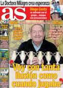 Portada diario AS del 23 de Mayo de 2014
