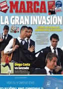 Portada diario Marca del 23 de Mayo de 2014