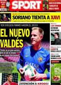 Portada diario Sport del 23 de Mayo de 2014