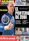 Portada Mundo Deportivo del 23 de Mayo de 2014