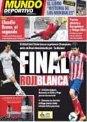 Portada Mundo Deportivo del 24 de Mayo de 2014
