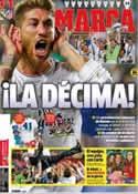 Portada diario Marca del 25 de Mayo de 2014