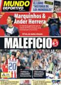 Portada Mundo Deportivo del 25 de Mayo de 2014