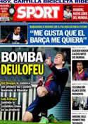 Portada diario Sport del 26 de Mayo de 2014