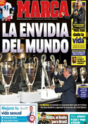 Portada diario Marca del 27 de Mayo de 2014