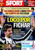 Portada diario Sport del 27 de Mayo de 2014