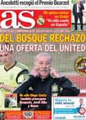 Portada diario AS del 28 de Mayo de 2014