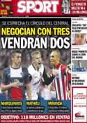 Portada diario Sport del 28 de Mayo de 2014