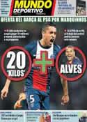 Portada Mundo Deportivo del 28 de Mayo de 2014