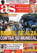 Portada diario AS del 29 de Mayo de 2014