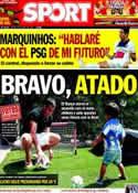 Portada diario Sport del 29 de Mayo de 2014