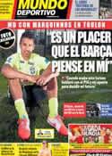 Portada Mundo Deportivo del 29 de Mayo de 2014
