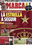 Portada diario Marca del 30 de Mayo de 2014