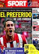 Portada diario Sport del 30 de Mayo de 2014