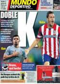 Portada Mundo Deportivo del 30 de Mayo de 2014