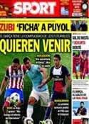 Portada diario Sport del 31 de Mayo de 2014