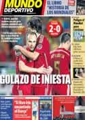 Portada Mundo Deportivo del 31 de Mayo de 2014