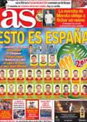 Portada diario AS del 1 de Junio de 2014