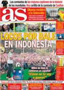 Portada diario AS del 2 de Junio de 2014