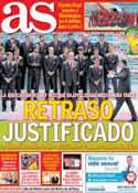 Portada diario AS del 3 de Junio de 2014