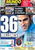 Portada Mundo Deportivo del 3 de Junio de 2014