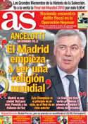 Portada diario AS del 4 de Junio de 2014