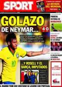 Portada diario Sport del 4 de Junio de 2014