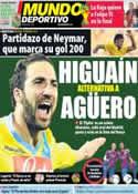 Portada Mundo Deportivo del 4 de Junio de 2014