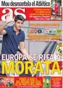 Portada diario AS del 5 de Junio de 2014