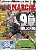 Portada diario Marca del 5 de Junio de 2014