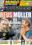 Portada Mundo Deportivo del 5 de Junio de 2014