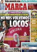 Portada diario Marca del 6 de Junio de 2014