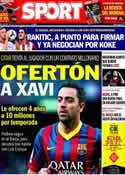Portada diario Sport del 6 de Junio de 2014