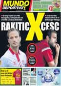 Portada Mundo Deportivo del 6 de Junio de 2014