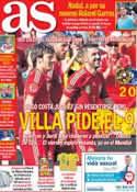 Portada diario AS del 8 de Junio de 2014
