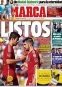 Portada diario Marca del 8 de Junio de 2014
