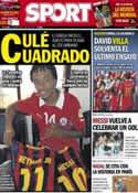 Portada diario Sport del 8 de Junio de 2014
