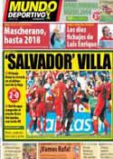 Portada Mundo Deportivo del 8 de Junio de 2014