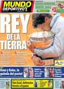 Portada Mundo Deportivo del 9 de Junio de 2014